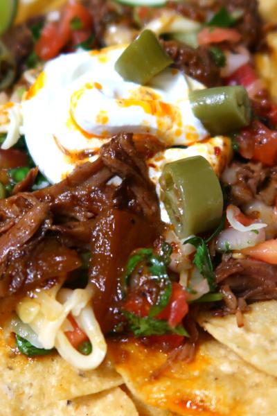 How to Make Beef Barbacoa Nachos