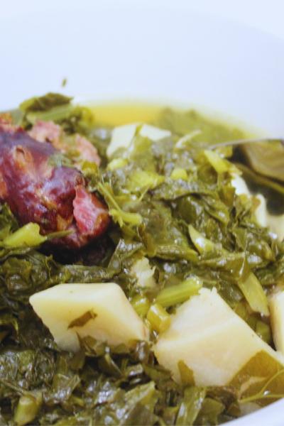 Instant Pot Turnip Greens